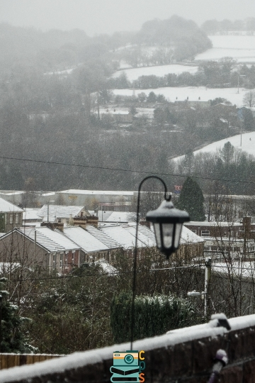 Snow in Newport areas